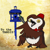 To the TARDIS! by AnnaNM