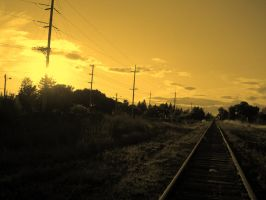The Tracks Lead this Way by Sacramented-Desire