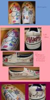 Sharpie Shoes 3 by Neveko