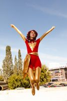 Dark Phoenix cosplay 4 by Shiera13