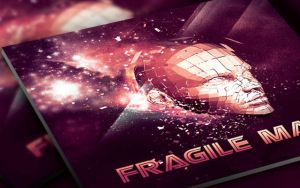 Fragile Man CD Artwork Template by loswl