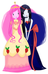 Marcy and Bonnibel by Mitz-Abi