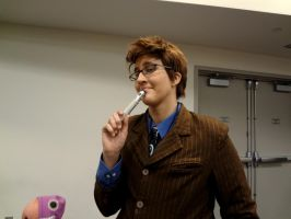 The Doctor Who Cosplayer by ThunderFreak