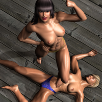 05 Amika vs Chanel Second Fight 322 by CalvadosJapan