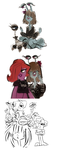 monsters university - goths by beetleshell