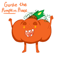 Meme Challenge: Gordie the PUMPKIN Prince by MissPomp