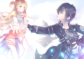Sword Art Online by mintycatart