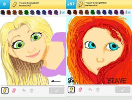 Draw Something!!! (Day 150) by Hedwigs-art
