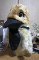 Sparrow fursuit head by ensiryu