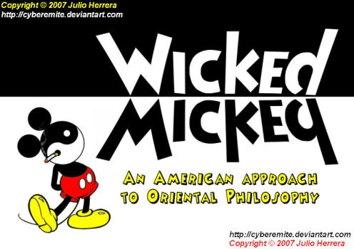 Wicked-Mickey Ambigram by Cyberemite