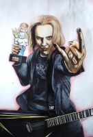 Alexi Laiho by Zhekan