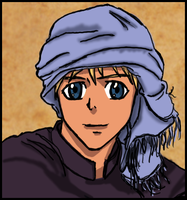 Portrait of the Caliph Who Should Have Been by Chajiko