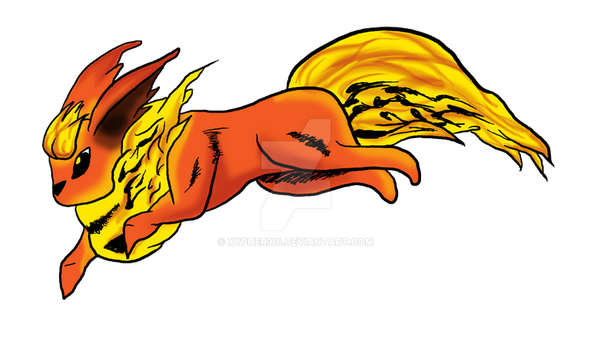 Flareon by xypher316