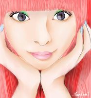 Kyary Sketch by Mina-Chan7