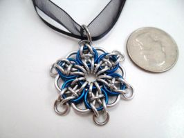 Celtic Star Pendant 6 point by SerenityinChains