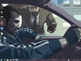 GTA IV 2 Windows 7 Theme by yonited