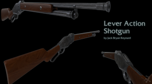 Lever Action Shotgun by JackBryanReynard