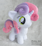 Sweetie Belle plush by PinkuArt