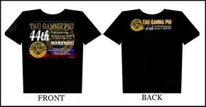 Shirt for 44th Founding Anniversary TAU GAMMA by khingfiles