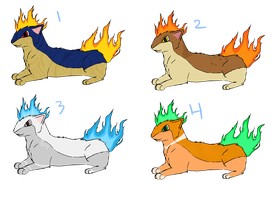 Quilava Point Adoptables by AnonymousMonster