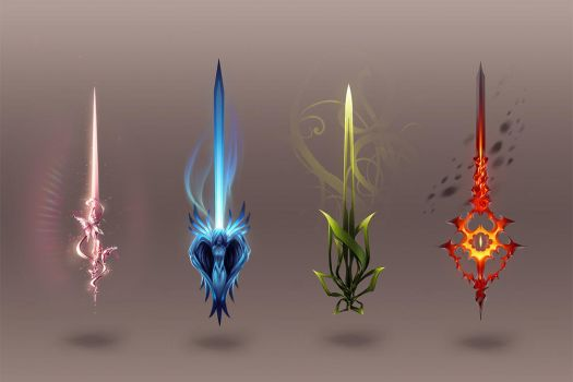 Swords by Ann-Jey