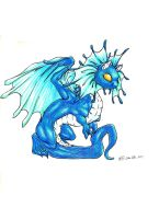 Fairy Dragon Hatchling by creativegoth18