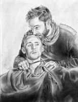 Coriolanus and Aufidius by LPSoulX