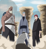 Naruto 525 - The Old Kage by ernie1991