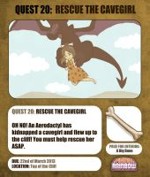 Quest 20 Rescue the Cavegirl by Ry-Spirit