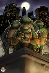 FAT HEROES (Teenage Mutant Ninja Turtles) by CarlosDattoliArt