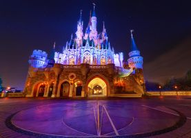 Cinderella Castle's Better Side by shaderf