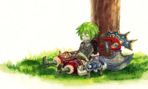 Take a rest by Chihiro-Chietam