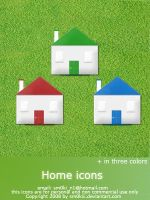 Home icons by BiHclub