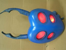 custom built blue beetle back pack by faustus70