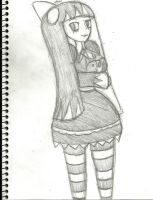 HalloweenFest 2013: Lindel Quilten as Stocking by AKB-DrawsStuff