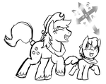 Apples to the Core! WIP - The Apple Bros! by philsterman