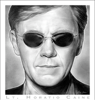 Lt. Horatio Caine - CSI Miami by gregchapin