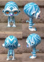 Tribal Snow Tiger by fuish