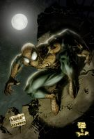 Jim Lee Spidey by JosephMichaelDavis