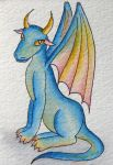 ATC: Pet Dragon by Athalour