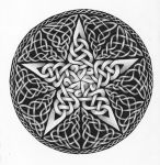 Knotwork Pentacle by Nocturn0wl