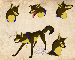 Alpha Wiesli - face expression concept by StanHoneyThief