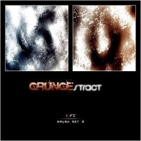 Grunge-stract Brush Set 2 by iLife