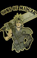 Sons of Midgar - Cloud by jmascia