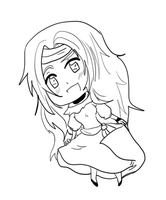 APH - Colombia -lineart- by Sun-Of-Passion