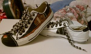 What my Chucks look like now . . . by AliceLovesChes