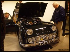 1961 Triumph TR3 by compaan-art