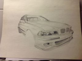 BMW E 39 m5 w.i.p by G-REDNEK