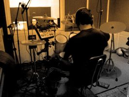 RECORDING DRUMS 2 by maRtinOpiate