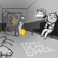Fancy Dead Space by arseniic
